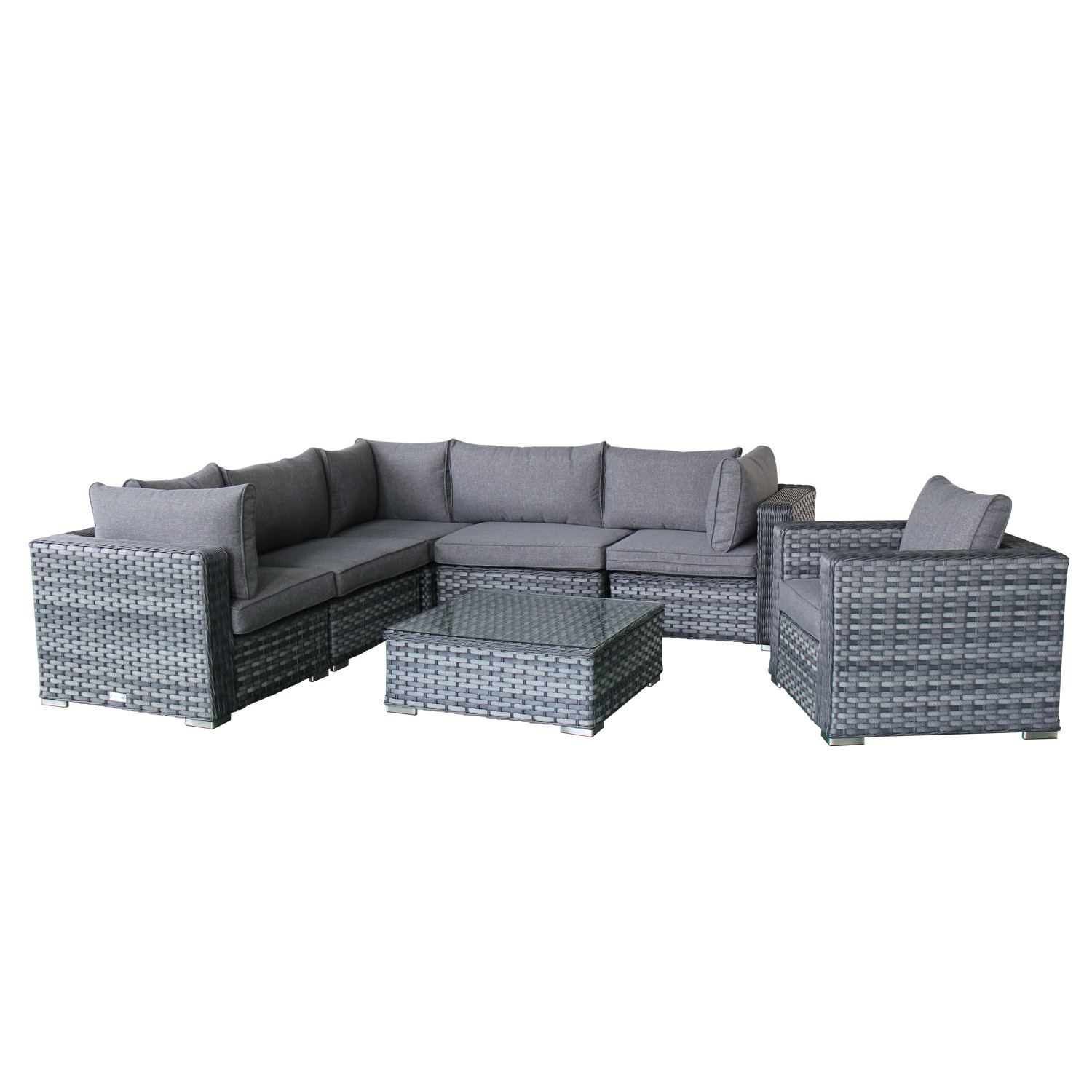Magari Primavera I Sectional Sofa Set, 7 Pieces – Magari Home